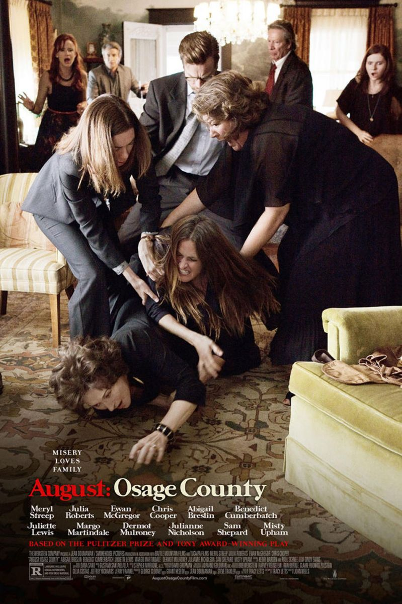 Meryl Streep, Julia Roberts & More In New AUGUST: OSAGE COUNTY Roundtable