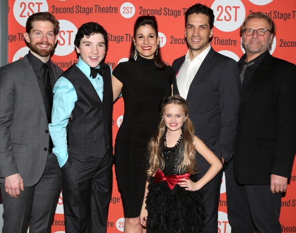 Rory O''Malley Logan Rowland, Stephanie J. Block, Hannah Nordberg, Will Swenson and David Rasche