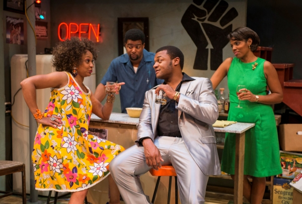 Coco Elysses (Bunny), Kamal Angelo Bolden (Lank), Kelvin Roston, Jr. (Sly) and Tyla Abercrumbie (Chelle)