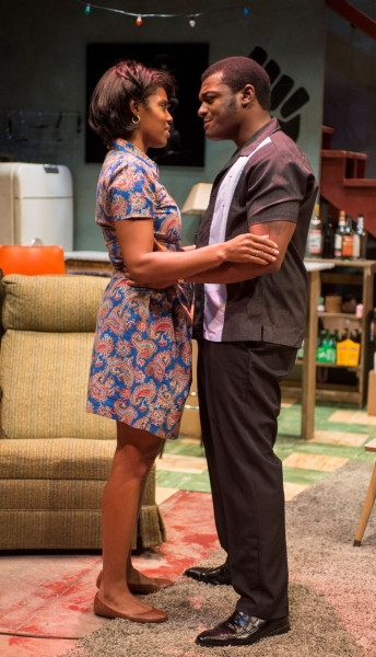 Tyla Abercrumbie (Chelle) and Kelvin Roston, Jr. (Sly)