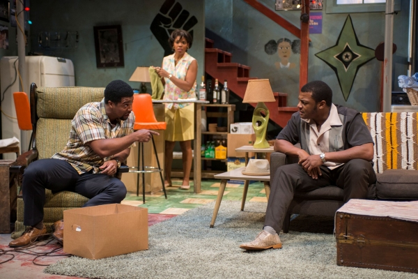 Kamal Angelo Bolden (Lank) with Kelvin Roston, Jr. (Sly) and Tyla Abercrumbie (Chelle)