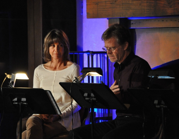 Wendie Malick and William H. Macy