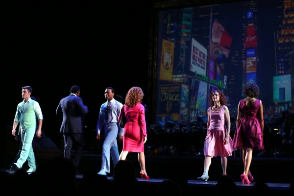 Photo Coverage: Encores! A BED AND A CHAIR - Curtain Call!