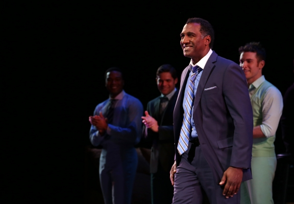 Grasan Kingsberry, Jeremy Jordan, Tyler Hanes and Norm Lewis
