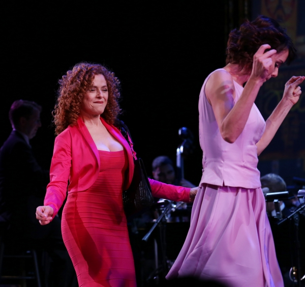 Bernadette Peters and Meg Gillentine