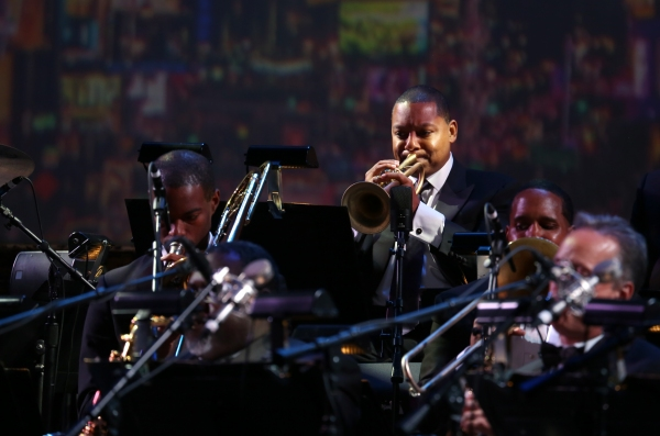 Wynton Marsalis with the Jazz at Lincoln Center Orchestra