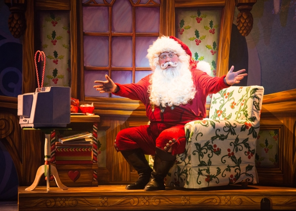 Ken Clement as Santa