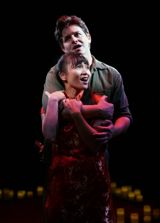 BWW REVIEW: THE HEAT IS ON IN 'MISS SAIGON' AT NSMT