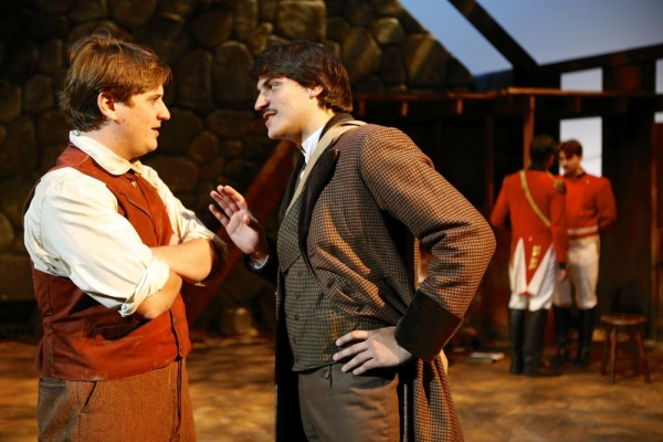 Johnny McKeown (Manus) and Max Miller (Owen)