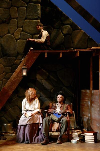 Whitney Crowder (Maire) and Matt Maretz (Jimmy Jack Cassie), Craig Kober (Hugh)