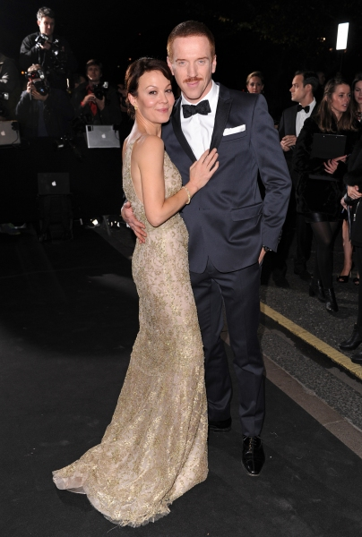 Damian Lewis and wife  Photo