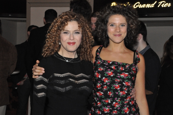 Bernadette Peters and Cyrille Aimee Photo