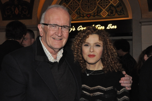 John Doyle and Bernadette Peters