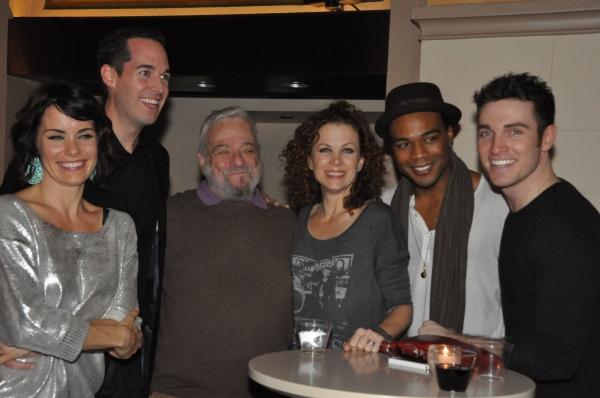 Meg Gillentine, Parker Esse, Stephen Sondheim, Elizabeth Parkinson, Grasan Kinsberry  Photo