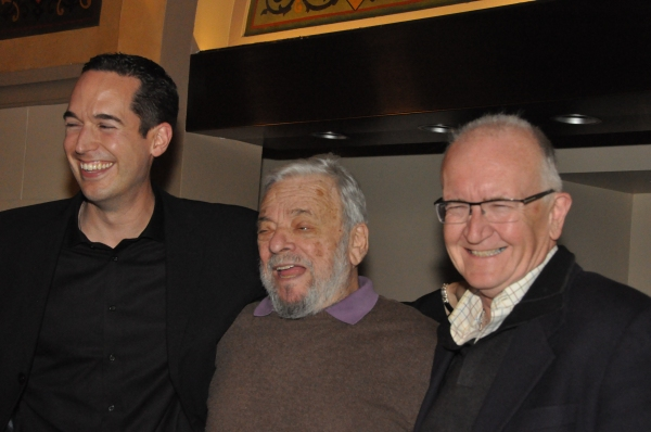 Parker Esse, Stephen Sondheim and John Doyle
