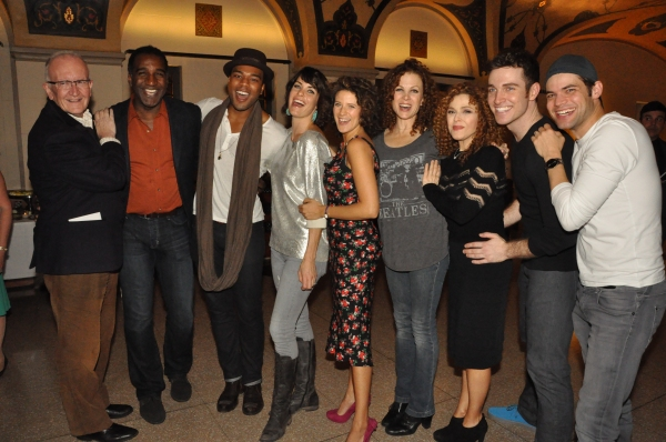 Photo Coverage: Inside A BED AND A CHAIR's Closing Night Cast Party with Peters, Lewis, Jordan and Aimee