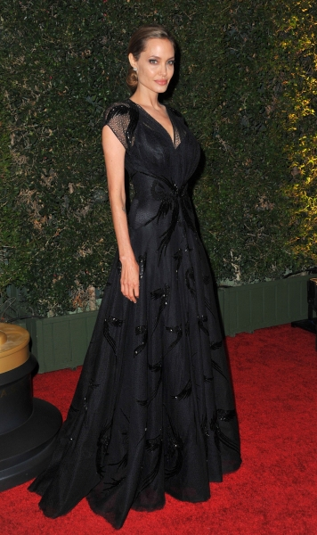 Angelina Jolie at the Academy Motion Picture Arts and Sciences 5th Annual Governors A Photo