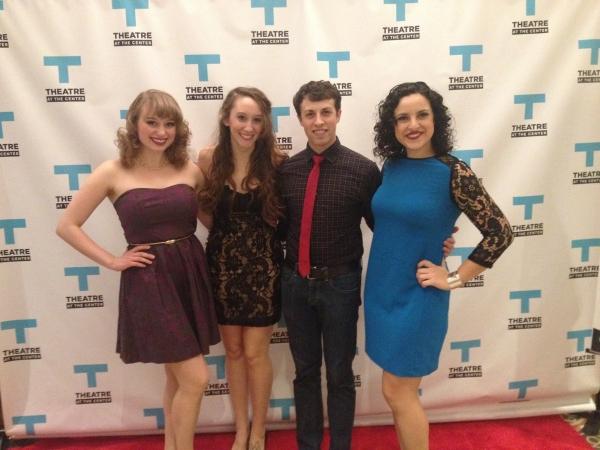 Callie Johnson, Rebecca Bradford, Ryan Naimy and Lauren Villegas