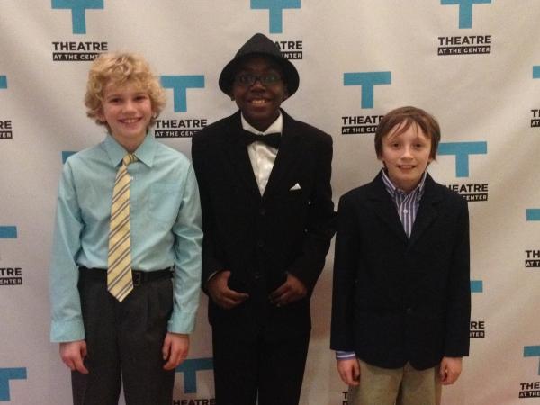 Gabriel Stern, Noah Patton and Killian Hughes