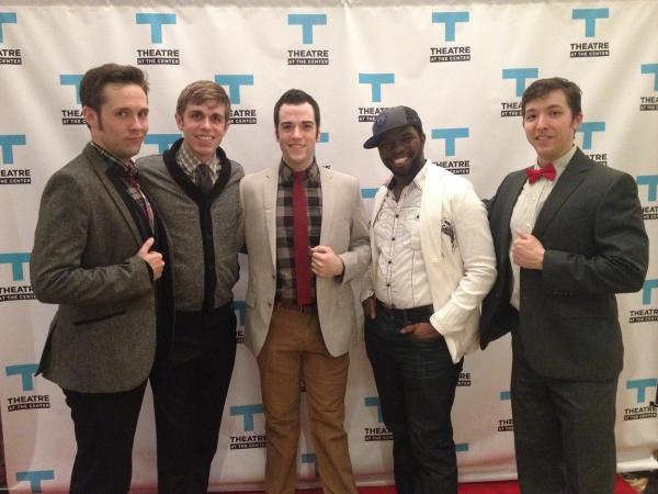 Patrick Tierney, Nathan Mittleman, Michael Richardson, Jonathan Butler-Duplessis and David Hathway