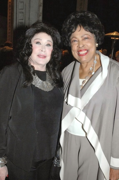 Barbara Van Orden and The Honorable Diane Watson Photo