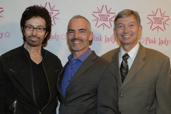 George Chakiris, Councilman Mitch O''Farrell and Leron Gubler (Hollywood Chamber of Commerce)