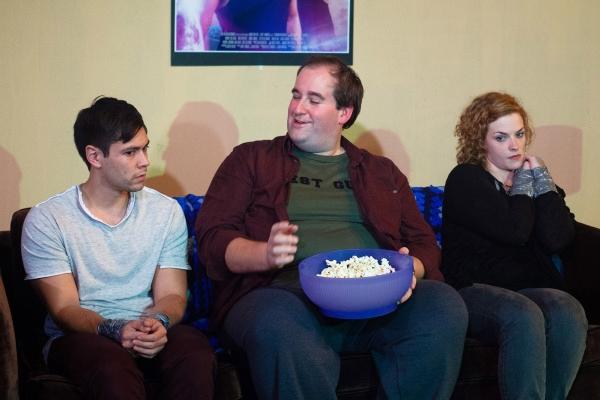 Nick Delehanty, Rob Grabowski and Mary Williamson