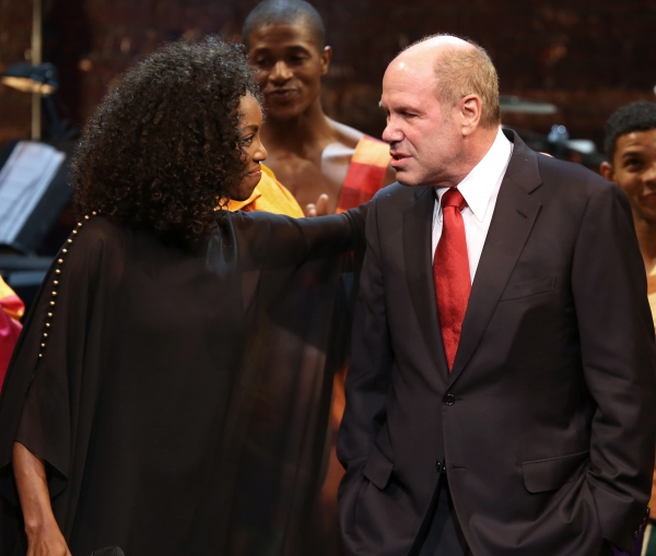 Photo Coverage: Michael Eisner Honored at New 42nd St. Gala- Inside the Curtain Call