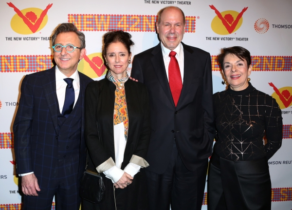 Thomas Schumacher, Julie Taymor, Michael D. Eisner and Cora Cahan
