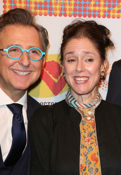 Thomas Schumacher and Julie Taymor
