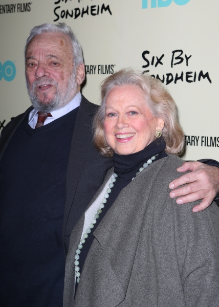 Stephen Sondheim & Barbara Cook