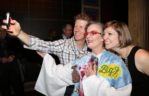 Jennifer Smith with Mark Ledbetter and Pamela Bob