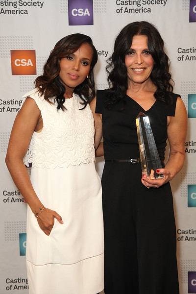 Kerry Washington and Linda Lowy
