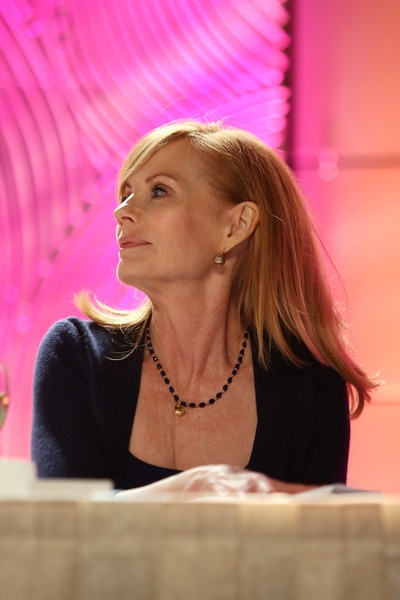 Actress Marg Helgenberger presents during the Casting Society of America 29th Annual Artios Awards held at the Beverly Hilton Hotel on Monday, Nov. 18, 2013, in Beverly Hills, Calif. (Photo by Ryan Miller/Capture Imaging)