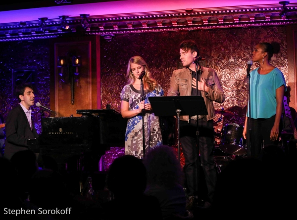 Jason Robert Brown, Whitney Bashor, Morgan Karr, Dann''yelle Eblen