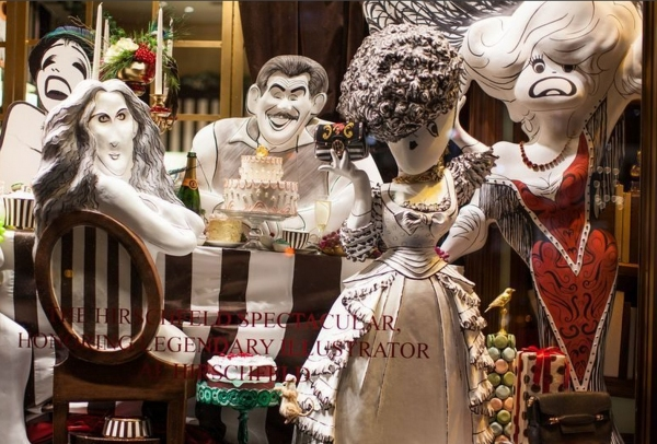 Photo Coverage: Henri Bendel's Holiday Windows