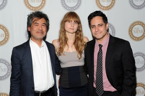 David Henry Hwang, Annie Baker,  Rajiv Joseph
