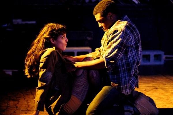 Alyssa Vera Ramos and Brandon Holmes