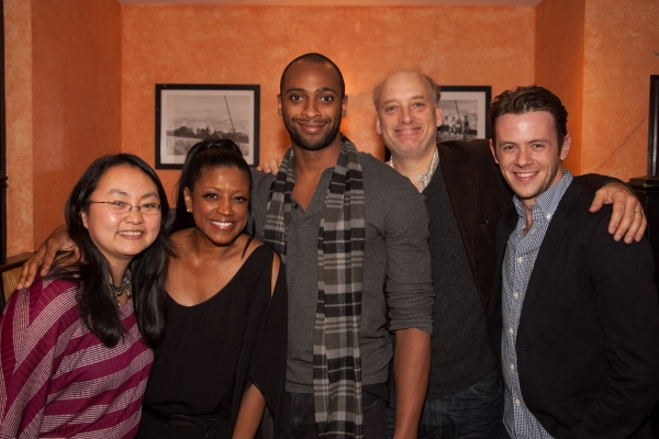 Winnie Lok, Marva Hicks,  Donté Bonner,  Frank Wood & Nick Westrate