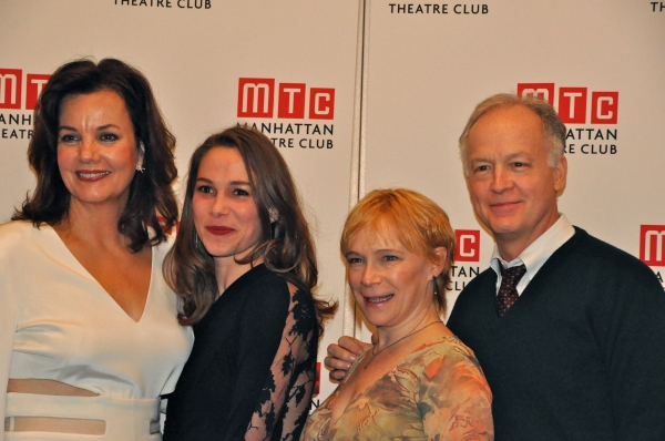 Margaret Colin, Kristen Bush, Amelia Campbell and Reed Birney