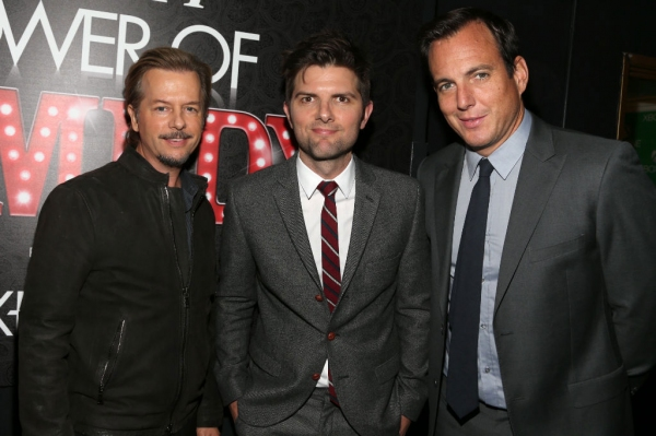 David Spade, Adam Scott, Will Arnett