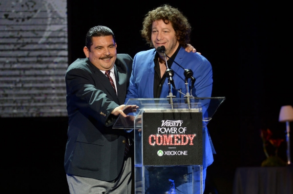 Guillermo Rodriguez & Host Jeff Ross Photo