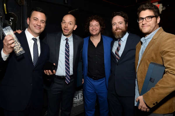 Jimmy Kimmel, Paul Scheer, Jeff Ross, Jon Daly & Adam Pally