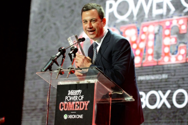 Photo Flash: First Look at Jimmy Kimmel, Jeff Ross, Aziz Ansari & More in Variety's Power of Comedy Event