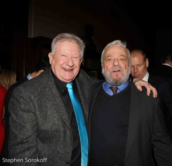 Harvey Evans & Stephen Sondheim