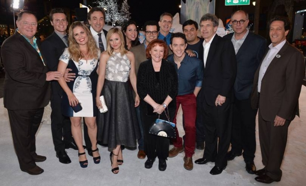 Photo Flash: Josh Gad, Kristen Bell & More Attend FROZEN L.A. Premiere