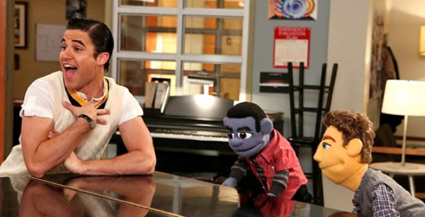 Photo Flash: First Look - Darren Criss & Friends in GLEE's 'Puppet Master' Episode!