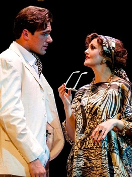 Jonathan Roxmouth and Angela Kilian in SUNSET BOULEVARD