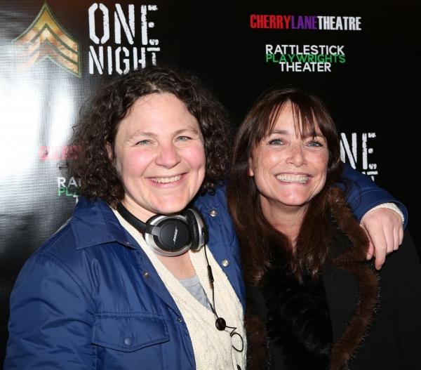 Lucy Thurber and Karen Allen