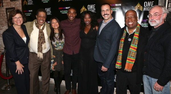 Angelina Fiordellisi, Cortez Nance Jr., K.K. Moggi, Grantham Coleman, Rutina Wesley and Matthew Montelongo, Clinton Turner Davis and David Van Asselt